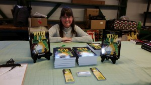Author Kerry Gans and The Witch of Zal at Trenton Farmer's Market Author's Buffet